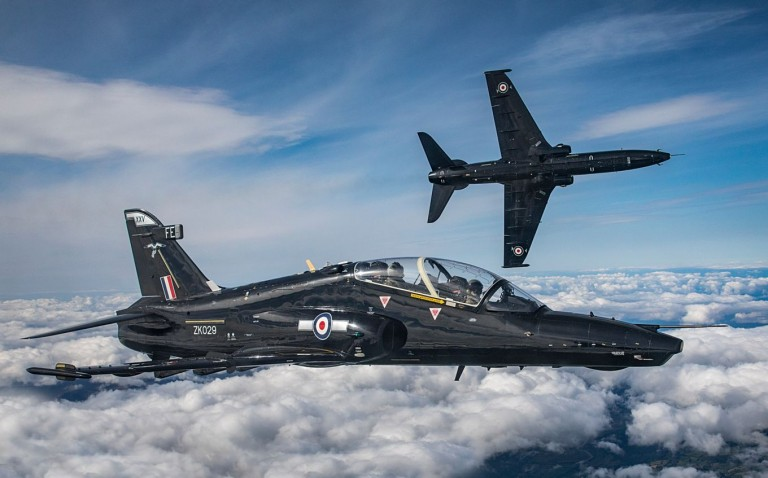 Photographs from a Photo Chase of the newly stood-up 25(F) Squadron Hawk T2 and IV(AC) Squadron Hawk T2. The Hawks are based at RAF Valley, Anglesey, and  due to squadron sizes and manpower, the decision was made to split IV(AC) Sqn in two. Wing Commander Tim Simmons will be Officer Commanding of the new squadron, an ex-Harrier pilot, he is keen to get the squadron up and running. When Pilots graduate from IV(AC) Sqn, they will still go to their Operational Conversion Units (OCU) on the Typhoon or F-35B Lightning II. 25(F) Sqn has been stood up to accommodate the increase in numbers of front line pilots.